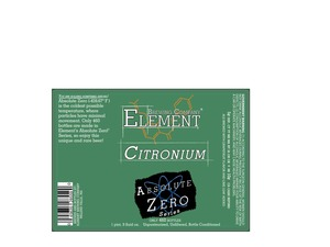 Element Brewing Company Citronium