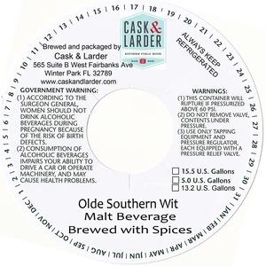 Cask & Larder Olde Southern Wit