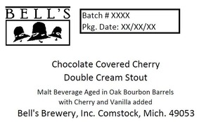 Bell's Chocolate Covered Cherry Double Cream