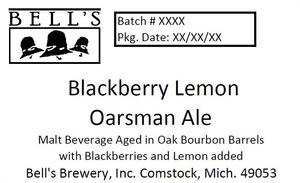 Bell's Blackberry Lemon Oarsman Ale
