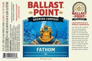 Ballast Point Brewing Company Fathom