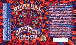 Starr Hill Cryptical