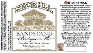 Starr Hill Bandstand