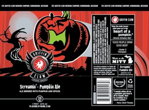 Griffin Claw Brewing Company Screamin'-pumpkin