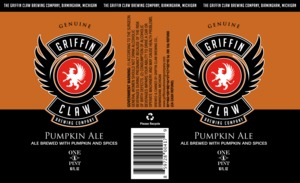 Griffin Claw Brewing Company Pumpkin Ale