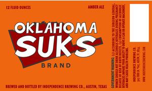 Oklahoma Suks Brand