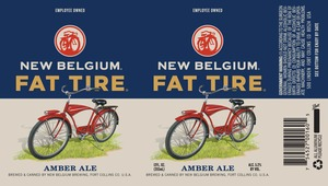 New Belgium Brewing Fat Tire August 2013