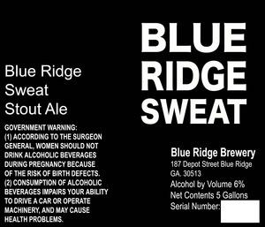 Blue Ridge Sweat