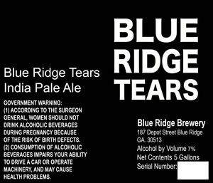 Blue Ridge Tears