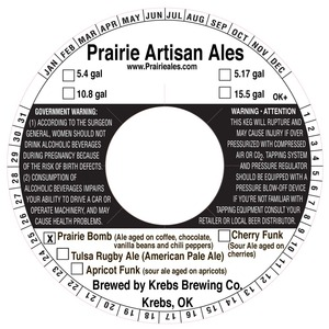 Prairie Artisan Ales Prairie Bomb