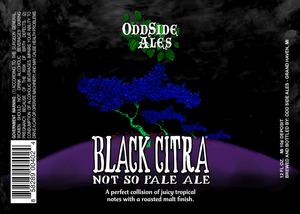 Odd Side Ales Black Citra