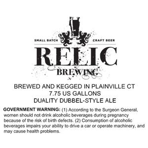 Relic Brewing Duality