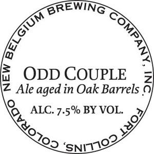 New Belgium Brewing Company Odd Couple
