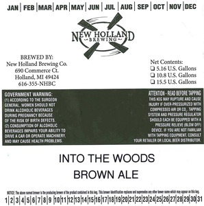 New Holland Brewing Company Into The Woods