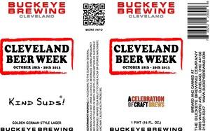 Buckeye Brewing Cleveland Beer Week 2013