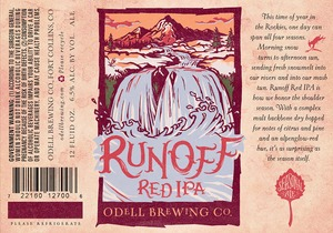 Odell Brewing Company Runoff