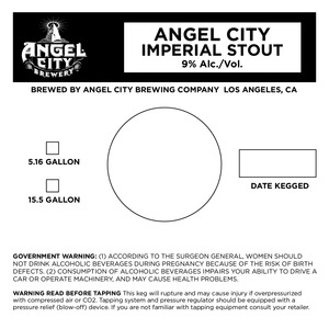 Angel City Imperial Stout