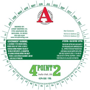 Avery Brewing Company 4point2