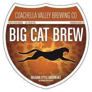 Coachella Valley Brewing Co Big Cat Brew