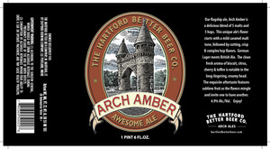 The Hartford Better Beer Co. Arch Amber