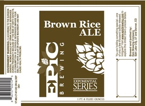Epic Brewing Company Brown Rice