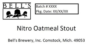 Bell's Nitro Oatmeal