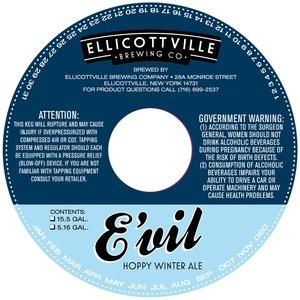 Ellicottville Brewing Company E'vil Hoppy Winter Ale