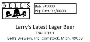 Bell's Larry's Latest Lager