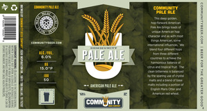 Community Beer Company Pale Ale