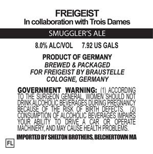 Freigeist Smuggler's Ale