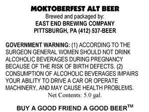Moktoberfest Alt Beer