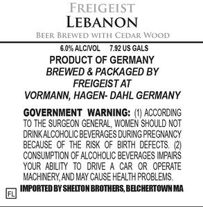 Freigeist Lebanon August 2013