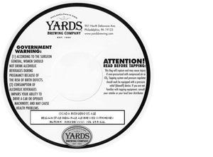 Yards Brewing Company Cicada Indigenous Ale