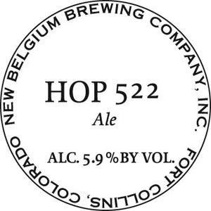 New Belgium Brewing Company Hop 522