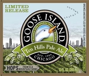 Goose Island Ten Hills