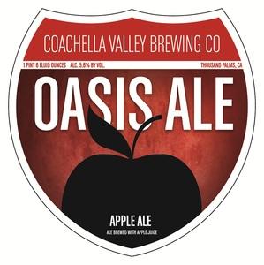 Coachella Valley Brewing Co Oasis Ale