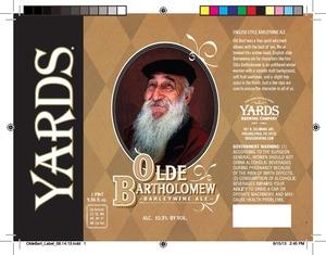Yards Brewing Company Old Bartholomew