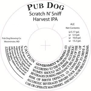 Pub Dog Harvest IPA