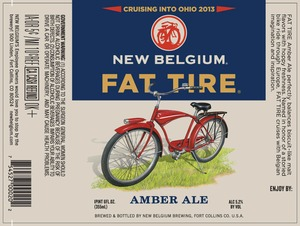 New Belgium Brewing Fat Tire September 2013