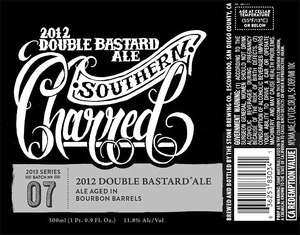 2012 Double Bastard Ale Southern Charred