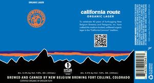 New Belgium Brewing California Route
