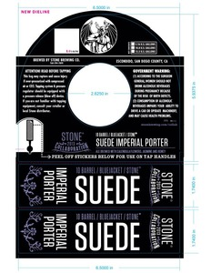 10 Barrel Bluejacket Stone Suede Imperial Porter