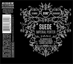 10 Barrel Stone Bluejacket Suede Imperial Porter September 2013