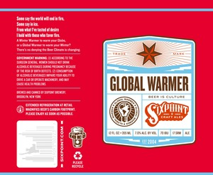 Sixpoint Craft Ales Global Warmer