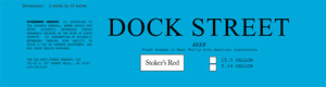 Dock Street Stoker's Red
