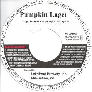 Lakefront Brewery Pumpkin