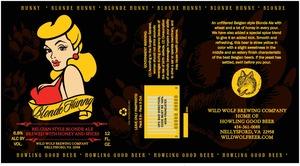 Wild Wolf Brewing Company Blonde Hunny