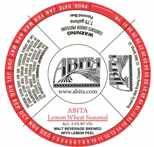 Abita Lemon Wheat Seasonal