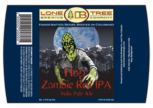 Lone Tree Brewing Company Hop Zombie Red IPA