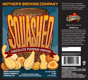 Mother's Brewing Company Squashed